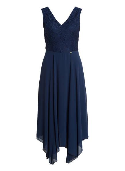 RINASCIMENTO Kleid mit Spitzenbesatz, Farbe: NAVY (Bild 1)