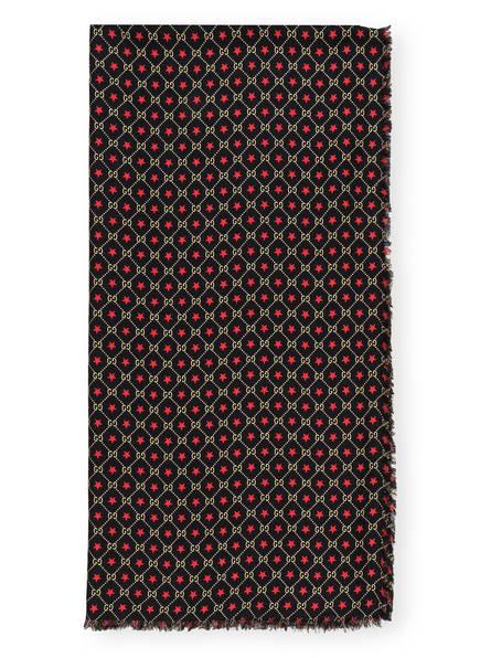 GUCCI Tuch, Farbe: 1075 BLACK/YELLOW (Bild 1)