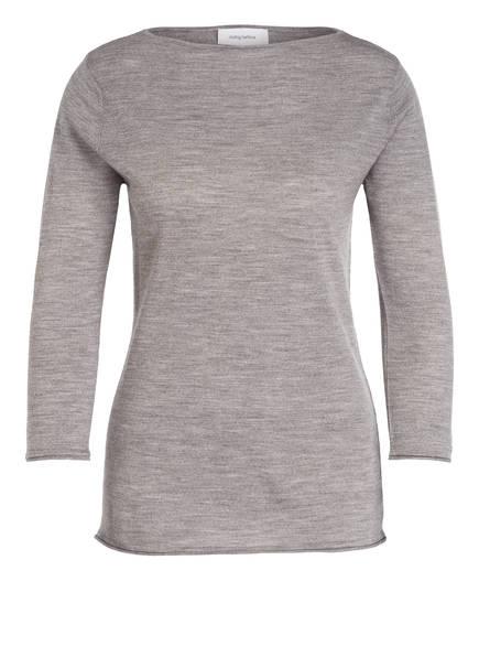 DARLING HARBOUR Pullover aus Schurwolle, Farbe: GRAU MELIERT (Bild 1)