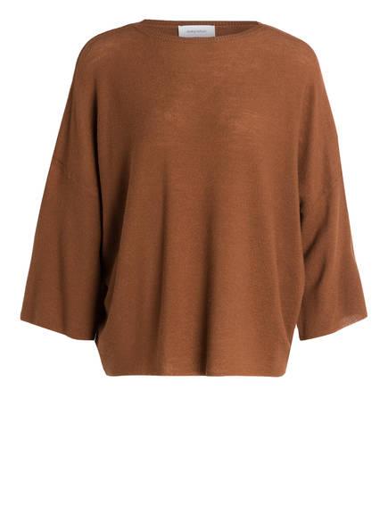 DARLING HARBOUR Pullover aus Schurwolle, Farbe: BRAUN (Bild 1)