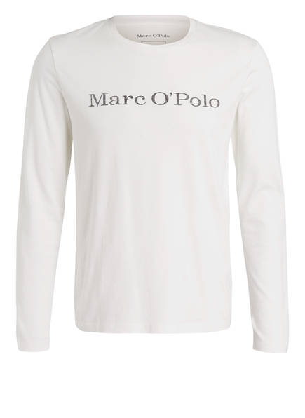 Marc O'Polo Langarmshirt, Farbe: WEISS (Bild 1)