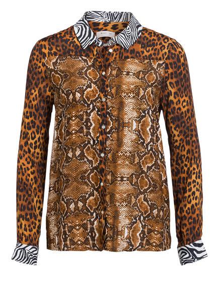 rich&royal Bluse, Farbe: BRAUN/ SCHWARZ/ WEISS (Bild 1)