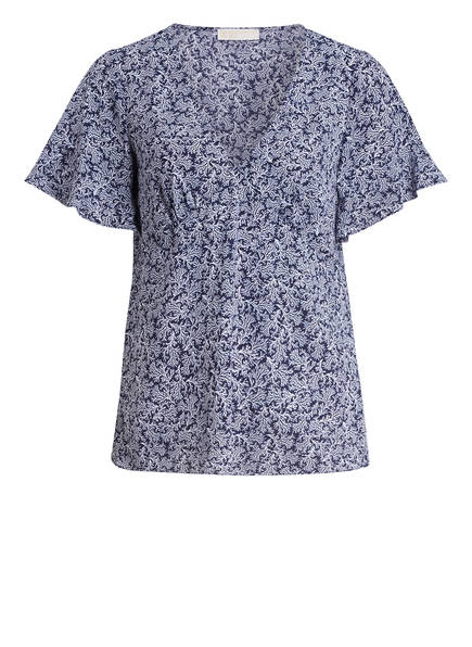 MICHAEL KORS Blusenshirt, Farbe: BLAU GEMUSTERT (Bild 1)