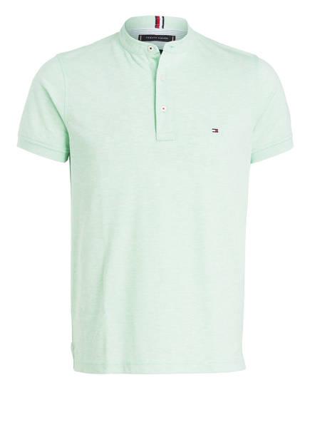 TOMMY HILFIGER Piqué-Poloshirt Slim Fit, Farbe: HELLGRÜN (Bild 1)