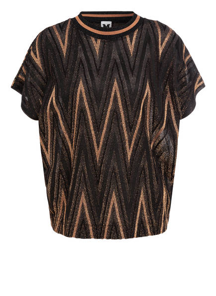 M MISSONI T-Shirt, Farbe: SCHWARZ/ GOLD (Bild 1)