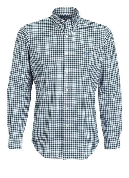 POLO RALPH LAUREN Hemd Custom Fit, Farbe: GRÜN/ WEISS/ KARIERT (Bild 1)