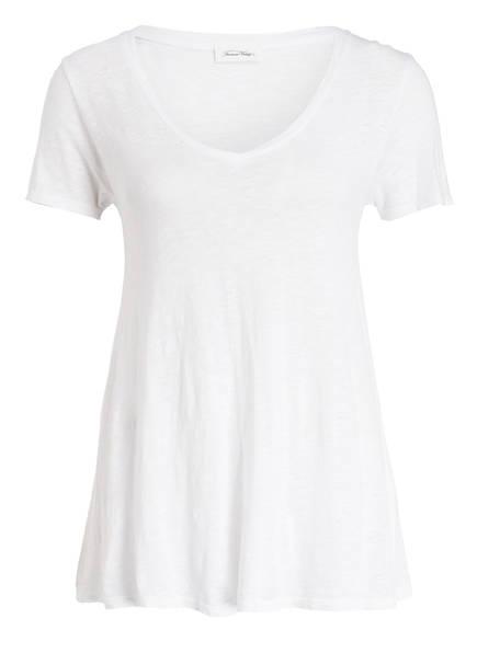 American Vintage T-Shirt KOBIBAY, Farbe: WEISS MELIERT (Bild 1)