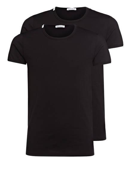 DOLCE&GABBANA 2er-Pack T-Shirts, Farbe: SCHWARZ (Bild 1)