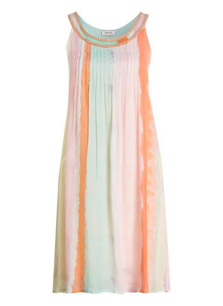 MALVIN Kleid, Farbe: GELB/ ORANGE/ MINT GESTREIFT (Bild 1)