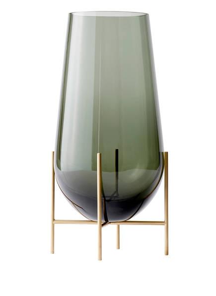 MENU Vase ÉCHASSE LARGE, Farbe: GRÜN  (Bild 1)
