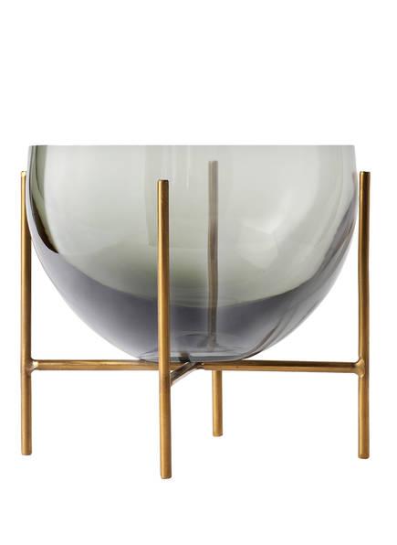 MENU Schale ÉCHASSE, Farbe: GRAU/ GOLD (Bild 1)