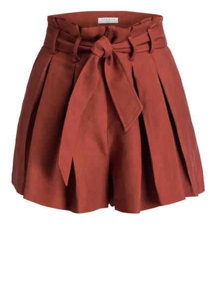 sandro Paperbag-Hose , Farbe: BRAUN (Bild 1)