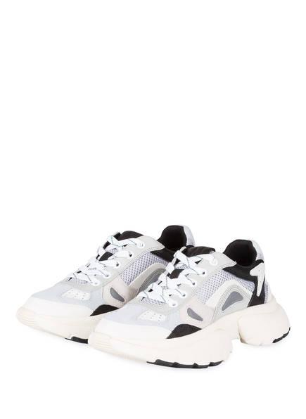 maje Sneaker FASTER REFLECTIVE, Farbe: GRAU/ HELLBLAU (Bild 1)