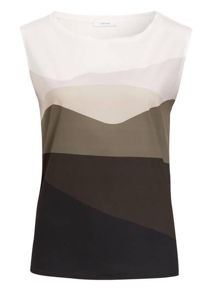 OPUS Blusentop SANYO, Farbe: BEIGE/ OLIV/ KHAKI (Bild 1)