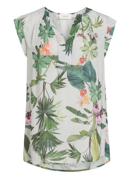 CARTOON Blusenshirt, Farbe: TAUPE/ GREEN (Bild 1)