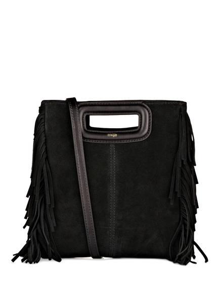 maje Handtasche M SUEDE, Farbe: SCHWARZ (Bild 1)