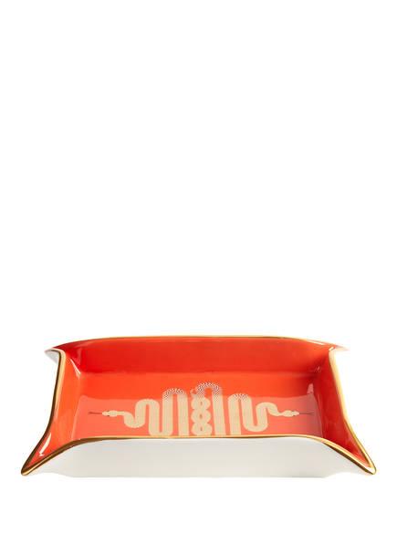 JONATHAN ADLER Schale SNAKE VALET, Farbe: ORANGE (Bild 1)