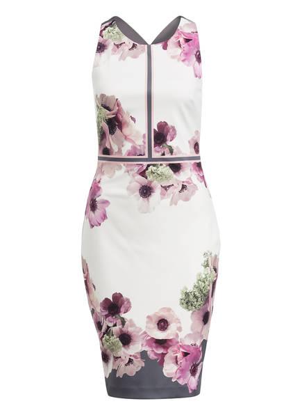 TED BAKER Kleid NANINA , Farbe: WEISS/ GRAU/ LILA (Bild 1)