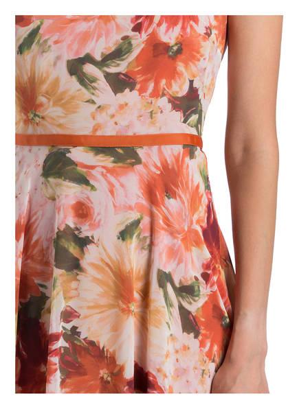 Kleid CARLY von HOBBS   ORANGE GEMUSTERT