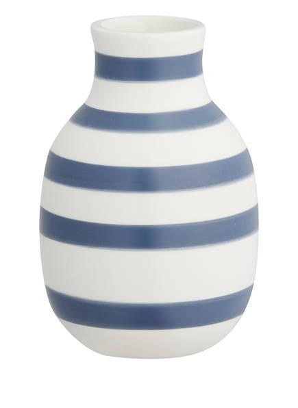KÄHLER Vase OMAGGIO SMALL, Farbe: WEISS/ BLAU (Bild 1)