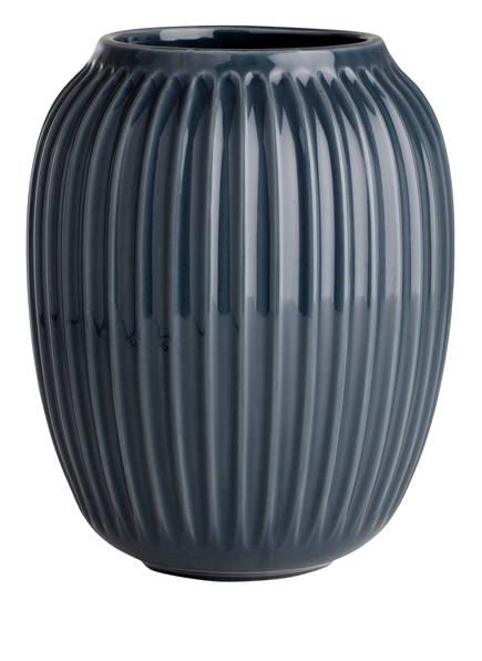 KÄHLER Vase HAMMERSHØI, Farbe: ANTHRAZIT (Bild 1)