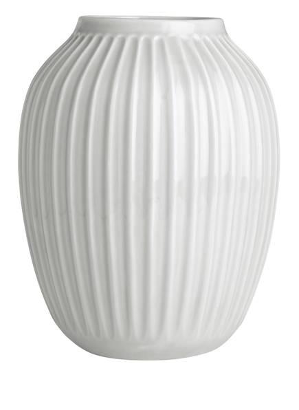 KÄHLER Vase HAMMERSHØI, Farbe: WEISS (Bild 1)