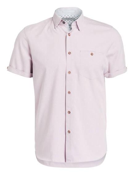 TED BAKER Halbarm-Hemd BRONZE Regular Fit, Farbe: HELLROSA (Bild 1)