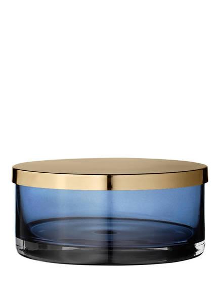 AYTM Glasdose TOTA, Farbe: BLAU/ GOLD (Bild 1)