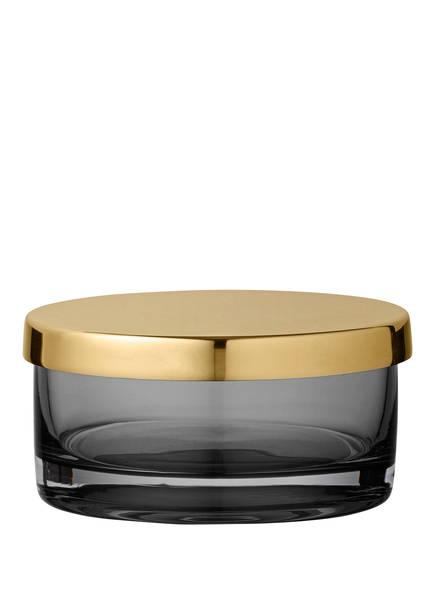 AYTM Glasdose TOTA, Farbe: SCHWARZ/ GOLD (Bild 1)