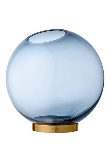 AYTM Vase GLOBE LARGE, Farbe: BLAU/ GOLD (Bild 1)