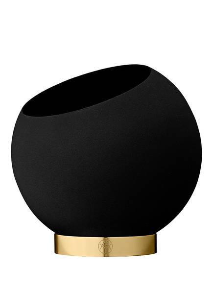 AYTM Blumentopf GLOBLE EXTRA SMALL, Farbe: SCHWARZ/ GOLD (Bild 1)