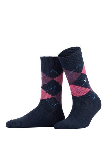 Burlington Socken WHITBY, Farbe: 6156 NAVY (Bild 1)