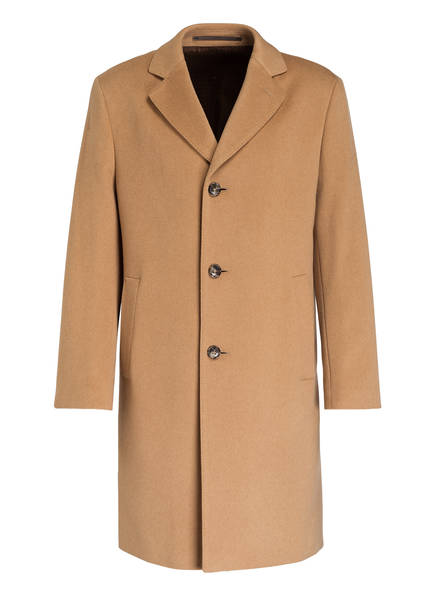 EDUARD DRESSLER Cashmere-Mantel, Farbe: CAMEL (Bild 1)