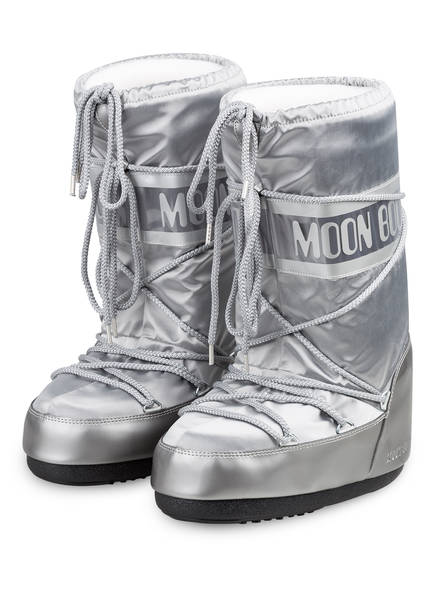 MOON BOOT Moon Boots NYLON GLANCE , Farbe: SILBER (Bild 1)