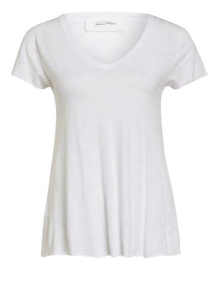 American Vintage T-Shirt JACKSONVILLE , Farbe: WEISS MELIERT (Bild 1)