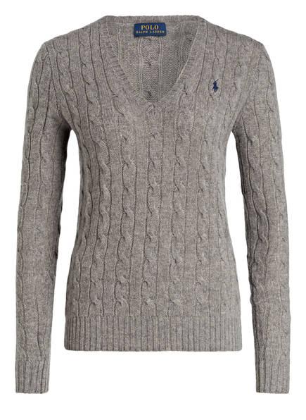 POLO RALPH LAUREN Pullover, Farbe: GRAU MELIERT (Bild 1)