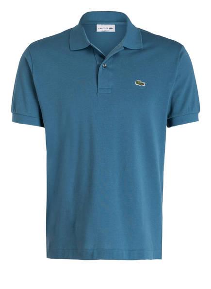 LACOSTE Piqué-Poloshirt Classic Fit, Farbe: PETROL (Bild 1)