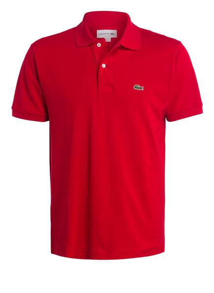LACOSTE Piqué-Poloshirt Classic Fit, Farbe: ROT (Bild 1)
