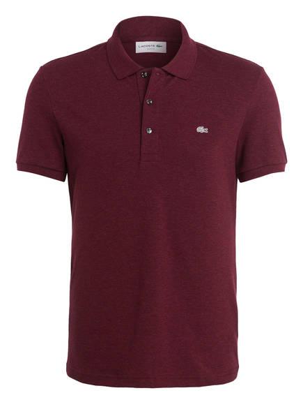 LACOSTE Stretch-Poloshirt Slim Fit, Farbe: BORDEAUX (Bild 1)