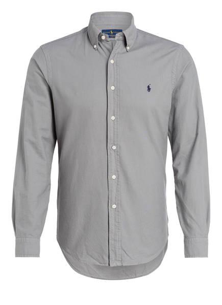 POLO RALPH LAUREN Oxfordhemd Slim Fit, Farbe: GRAU (Bild 1)