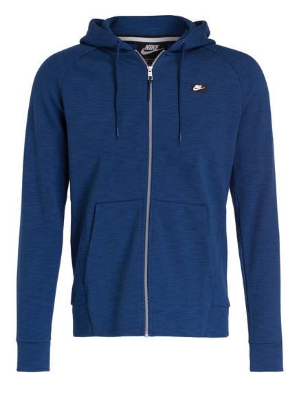 Nike Sweatjacke OPTIC, Farbe: BLAU MELIERT (Bild 1)
