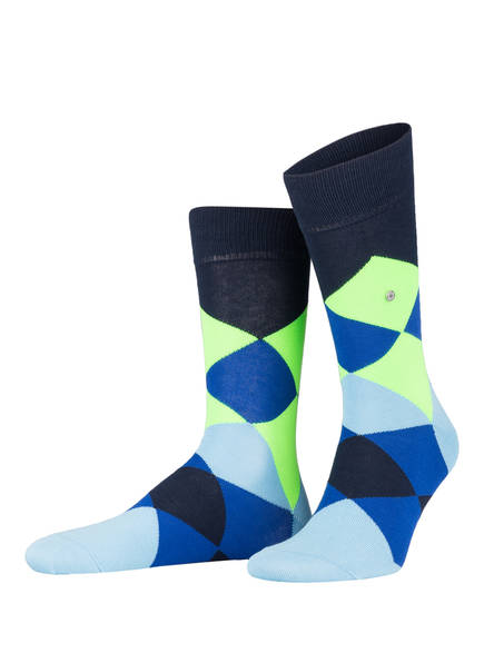 Burlington Socken NEON CLYDE, Farbe: 6120 MARINE (Bild 1)