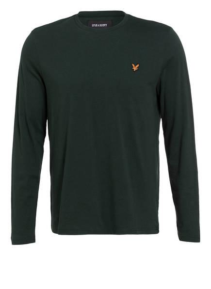 LYLE & SCOTT Langarmshirt, Farbe: DUNKELGRÜN (Bild 1)