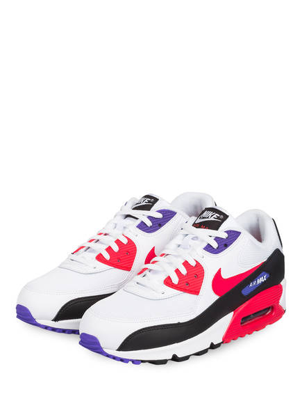 Nike Sneaker AIR MAX 90 ESSENTIAL, Farbe: WEISS/ PINK/ LILA (Bild 1)
