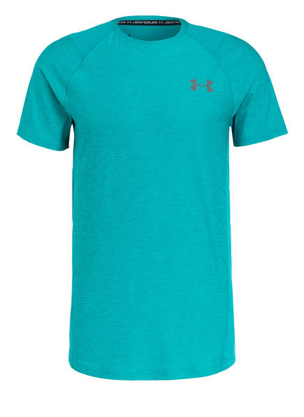 UNDER ARMOUR T-Shirt, Farbe: TÜRKIS (Bild 1)