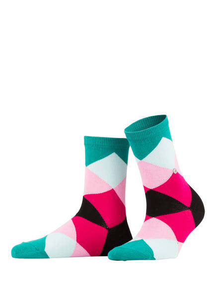 Burlington Socken BONNIE, Farbe: 7704 SCARAB VELVET (Bild 1)