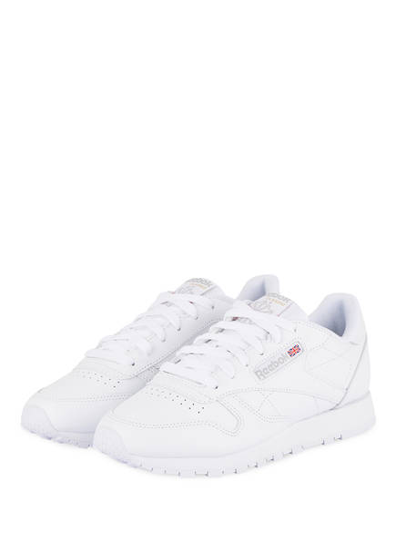 Reebok CLASSIC Sneaker CLASSIC LEATHER, Farbe: WEISS (Bild 1)