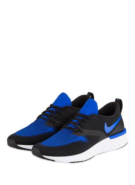 Nike Laufschuhe ODYSSEY REACT FLYKNIT 2, Farbe: SCHWARZ/ BLAU (Bild 1)