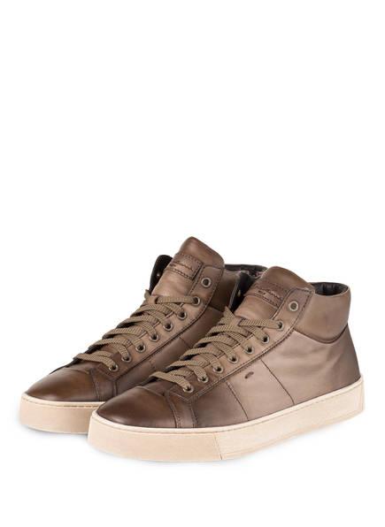 Santoni Hightop-Sneaker GLORIA, Farbe: TAUPE (Bild 1)