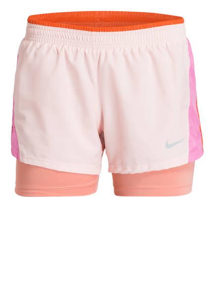 Nike 2-in-1 Laufshorts 10K, Farbe: PINK/ ROSE (Bild 1)